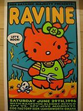 Ravine/Hello Kitty Devil- rare original USA Poster von Kozik