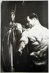 BATMAN SCARS Print DC Alex Ross art