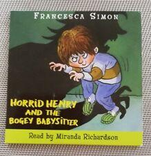 Fürchterliche Henry Hörbuch CD. H. Henry & die Bogey Babysitter. Halloween Thema.