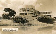 Brazil Brasil Belo Horizonte - Cassino real photo sepia postcard