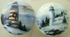 Cabinet Knobs w/ Lighthouse LIGHT HOUSE (2)