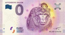 Billet Touristique 0 Euro - Affenberg Salem - 2018-3