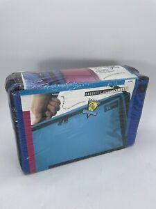 Vintage Starite Cassette Tape Carrying Case Holder Handle Holds 60/96 NOS