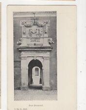Poort Prinsenhof Delft Netherlands Vintage U/B Postcard 491b