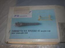 1/48 Turbogetto R.R Viper 642-43 pour Macchi 339  Moteur kit resine P.D Models