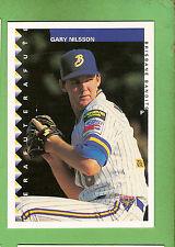 1995 AUSTRALIAN BASEBALL CARD #37  GARY NILSSON, BRISBANE BANDITS