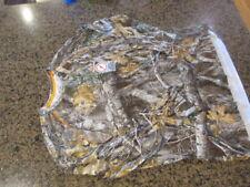 Realtree Men's S 34 36 Camo hunting Long Sleeve Tee Shirt Edge Camouflage NWT