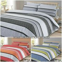 3Pcs Duvet Set Quilt Cover with Pillow Cases Reversible Bedding Set Lola Spice