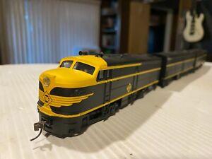 Walthers Trainline HO Alco FA-1 A/B/B Erie #729-A, 729-B, 732-B