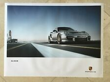 "Porsche Original Factory Poster-2011 911 | 997 Carrera GT2 RS-""Space Shuttle"""