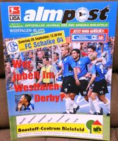 DSC Arminia Bielefeld + Almpost Magazin 26.09.2002 Bundesliga FC Schalke 04 /262