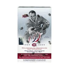 2008-09 Upper Deck Montreal Canadiens Centennial Hockey Hobby Box