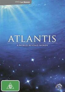 Atlantis DVD (2009) Luc Besson DOCUMENTARY RARE