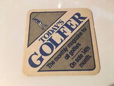 Today's Golfer Magazine Beer Mat (4.2)