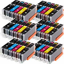 Black, 4 Pack MS Imaging Supply Compatible Inkjet Cartridge Replacement for Canon PGI-5Bk