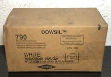 Box of 16! Dowsil 790 Silicone WHITE Building Sealant SAUSAGE 20oz Exp. 8/6/21
