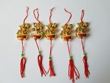 5 Vintage Chinese New Year Festival Money Tree Ornaments ~ Christmas Ornaments