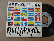 """DISQUE 45T DE  QUILAPAYUN  """" AMERICA LATINA """""""