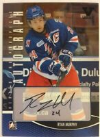 2012-13 ITG Heroes & Prospects Autograph Ryan Murphy Auto SP Vault #A-RMU