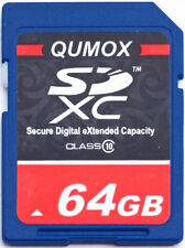 64GB SD XC Class 10 Memory Card 64G Secure Digital SDXC Ultra High Speed Camera