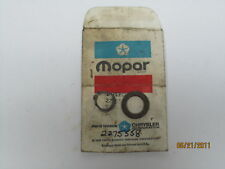 59-79 Chrysler Dodge Plymouth Starter Pinion Thrust Washer NOS 2275558