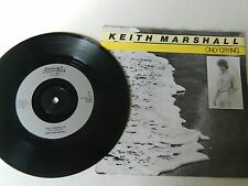 """KEITH MARSHALL - ONLY CRYING  P/S 7"""" SINGLE - 45rpm - Classic jukebox record"""