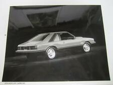 79 Mercury Capri R/S Advance Technical Data Press Photo 1979 2 of 2