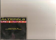 ALTERN 8 ACTIV 8 ( COME WITH ME ) CD SINGLE 90S DANCE 4 TRACKS