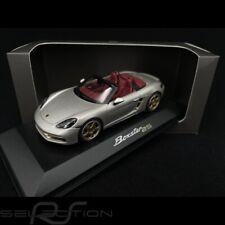 Porsche Boxter Edition 25 ans type 982 2021 Gris Argent GT 1/43 Minichamps WAP02