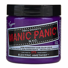 Electric Amethyst Purple Manic Panic Vegan 4 Oz Hair Dye Color