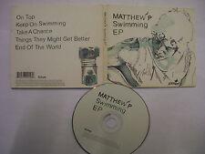 MATTHEW P Swimming EP – 2009 UK CD Digipack – Pop Rock – BARGAIN!