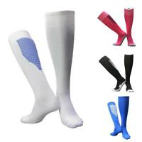 1pair Men's Sport Football Soccer Long Socks Over Knee High Sock Baseball Hockey