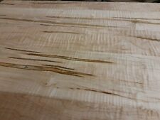 """Curly Ambrosia Maple Wall Planking 5/16"""" Ready to install 20sf Made in Indiana"""