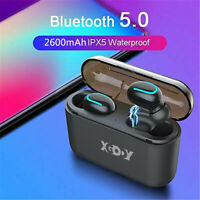 Mini TWS True Wireless In-Ear 3D Stereo BT5.0 Earphones Earbuds Headset