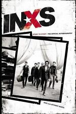 INXS Story to Story Official Autobiography 1st Ed 1st Printing HCDJ Hardcover