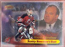 "MARTIN BRODEUR 1998-99 Bowman's Best ""Scotty Bowman's Best"""