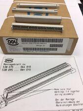 ODU 538.075.003.064 Flachkabelverbinder 64pol. neutral 0.5my Au,IDC,VPE 20 Stück