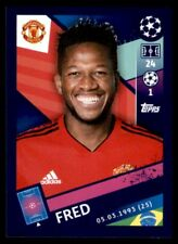 Topps Champions League 2018/19 - Fred Manchester United FC No. 183