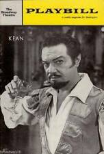"Alfred Drake ""KEAN"" Lee Venora 1961 FLOP Playbill with Opening Night Photographs"