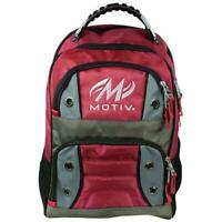 Motiv Intrepid Red Bowling Backpack