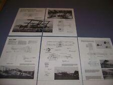 VINTAGE..A.W. FK10 & AVRO 504K..4-VIEWS/SPECS..(697C)