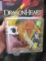 Kenner DragonHeart Action Figure: Bowen with Spear-Shooting War Wagon 1995