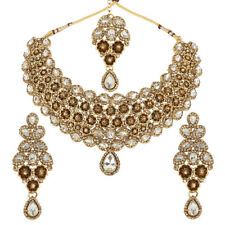 Indian Bollywood Beautiful Diamond Look Stunning fashion Necklace set for womens