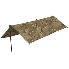 Waterproof Military Army Basha Camping Shelter Tarp Tent 250 x 170 cm HMTC MTP