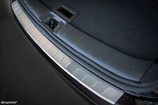 Ladekantenschutz für VW Sharan 2 II 7N 2010-2016 mit Abkantung Edelstahl 50-3618