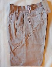IAN POULTER golf shorts men IJP DESIGN  trousers PLEATED FRONT SIZE 30 khaki tan