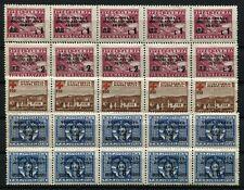 YUGOSLAVIA POSTAL TAX #RA5 ISTRIA SLOVENE COAST #42 #44 #45 #47 Stamp Collection