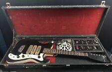 Vintage Silvertone Electric Guitar W/Amp case 1448? 57? Rare Stella Body
