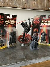 Darth Maul Lot Including Unleashed Figure (Star Wars)