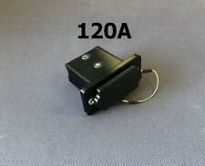 120A Premium Black Anderson SB120 Surface/Panel Mount + Insect/Dust Cap